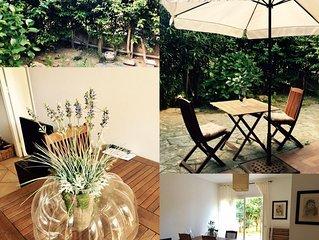 CALVI -T3 jardin en ville calme proche plage et Commerces