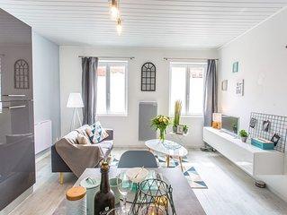 Picar'Appart(2) Suite Copenhague : Salon + chambre tout confort