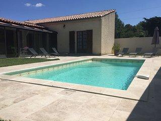 Belle villa en Provence (Le Luberon) avec sa piscine privee