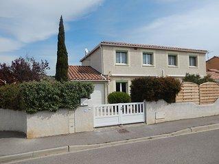 Villa 3 chambres pour 6 personnes à Narbonne-Plage avec WiFi