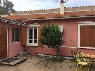Maisonnette 250m plage d'Argeles, climatisée , 45m2 , 4 personnes, 2 chambres