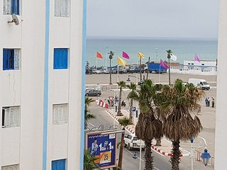Modern flat with sea view in  martil