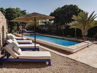 Dar Mayssoun, villa traditionnelle de charme de 150 m2 avec piscine privée