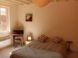 Charmante maison au coeur du village de Leucate. Proche mer et zone Natura 2000