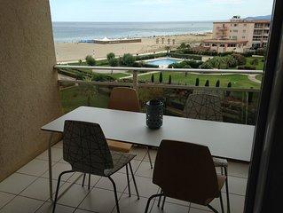 Appt Grand Standing bord de mer,piscine ,parking prive, clim PROMO du 30/6au7/7