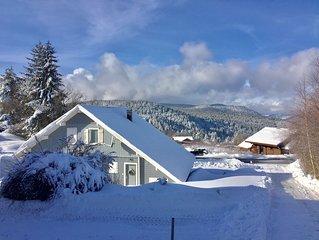 Chalet Le Flocon  Bleu **** 9 pers  Mauselaine Vue lac  Ski Sauna Gerardmer