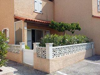 Villa dans résidence privée sécurisée, 2 piscines ,la plage à 100m .internet.