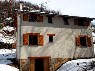 Maison neuve, 100 m2, 4 chambres, a 4 min du telepherique