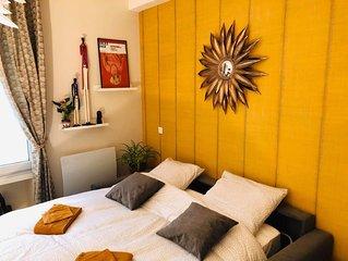 Studio luxueux centre - Climatisation & Netflix