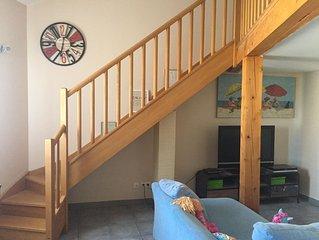Appartement lumineux, cosy, parfait en famille. 80M2, 3 chambres, garage privé