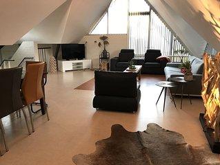 Unwind in this modern villa in Friesland