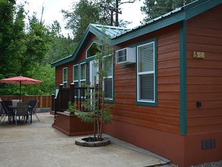 Enjoy one of our 2 bedroom cabins in the cool pines at Christopher Creek.