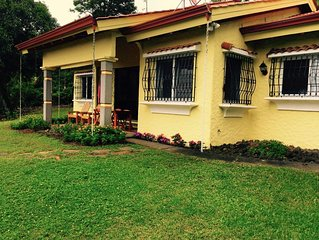 Private and Comfortable Home in a Beautiful Setting With View of Lake Arenal