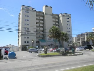Direct Oceanfront Corner End Unit. Nightly Rates Available for May!
