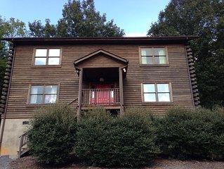 Luxury Log Home In Historic Lexington, VA