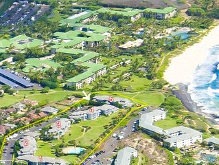Beautiful 3 br ocean view Poipu Villa!  Breathtaking ocean views!