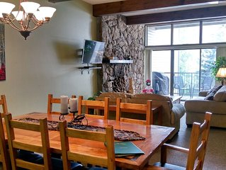 BC West #12: Centrally Located 3BR Condo w/Skier Shuttle, Heated Pool, Hot Tubs