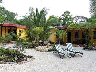 Property with Two Casitas Near Beach, Village in Mexico 15% Off Weekly May-Nov
