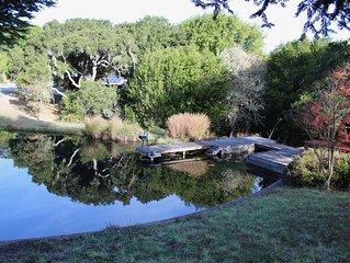 Point Reyes Garden House Getaway in Nicasio Valley