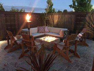 Wine Country Retreat- Dream Backyard- Firepit & Hot Tub