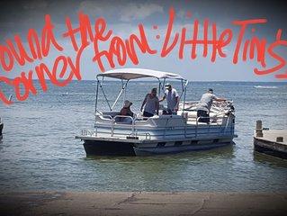 No shoes, No Shirt, No Problem, Lake Time, Relax and Chill at the Lake!