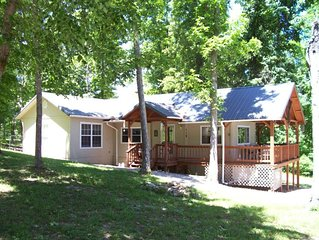 Affordable, Private, Norfork Lake View Home - Walk to water's edge! Super Nice!