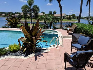 NEW! SPECTACULAR  WATERFRONT/POOL HOME-WITH AMAZING WATERFRONT SUNSETS!
