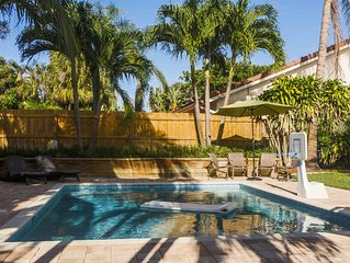 Heated Private Pool Lover's Paradise - walk to beach and town center