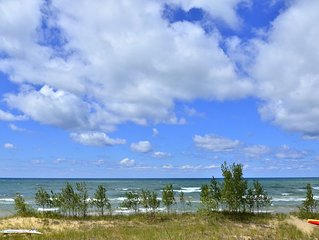 Beautiful Lake Michigan Beachfront Location