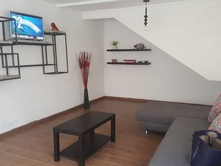 Beautiful house with parking 10 min. from city center