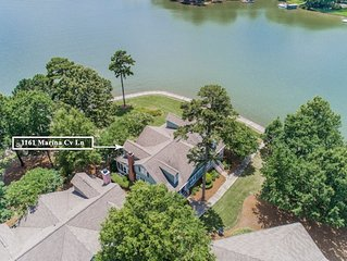 LAKEFRONT with BIG water views!!