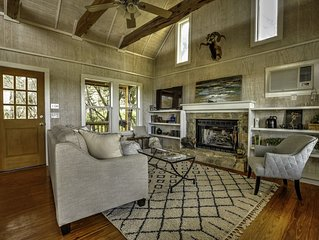 September Ridge Cabin1, Texas Hill Country Rustic yet Chic Cabins-Stunning Views