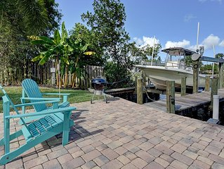 Water Front 10+ pp w/ 23ft KW BOAT available w/wo CAPTAIN!  +GAME ROOM!