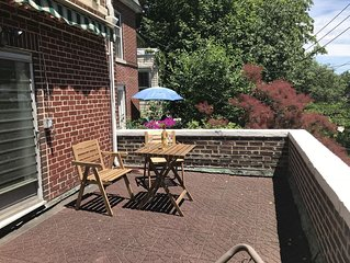 Large Studio Apartment w/Sunny Balcony in Riverdale NYC