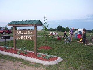 Mudline Lodging your premier Cabin, RV & Campsite Rental in Southern Illinois!