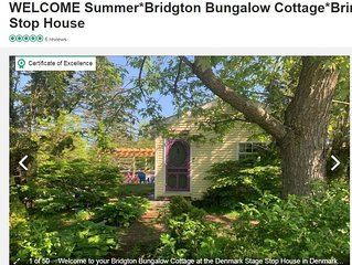 ★Spring & Summer 2020 Reservations Now!★ Bridgton Bungalow Cottage★Bring Fido
