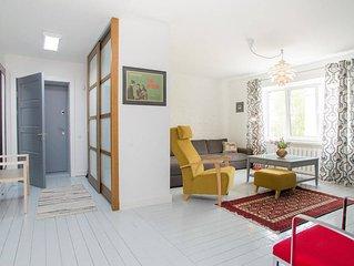 Designer Living in the Quiet Centre of Riga