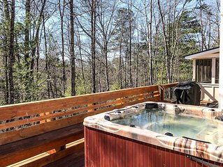 New Listing: New Gorgeous Home with large hot tub!