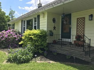 Peaceful country respite close to Oneonta and Cooperstown