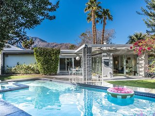 The Elrod | Mid Century Mountain View Pool & Spa Home