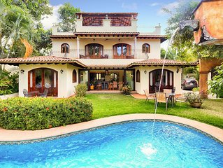 Stunning! New 2019 Remodel of Famous Villa... Steps to Beach and town.