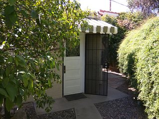 Private Guesthouse and garden located in the Phoenix Coronado neighborhood