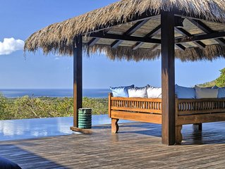 Casa Blue Is Overlooking The Pacific Ocean, Only 15 Minutes From Tamarindo.