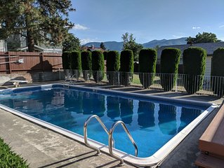 Penticton Downtown Home with Private Pool