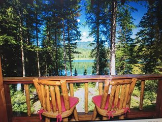 Gorgeous Lake front Cabin 10 Miles From Glacier Park