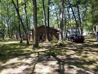 2 Bedroom, 1 bath Cabin near Budd Lake, now booking HUNTERS: STATE LAND NEAR BY