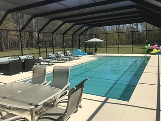 Luxury Estate Living on five acres with a pool minutes from Downtown Beaufort