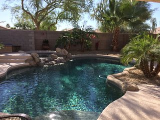 Private Heated Pool and Spa - Luxurious 2200 Sq Ft. 4 Bedroom Home & Office