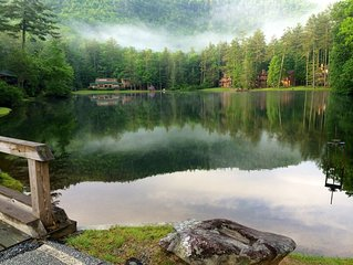 Fresh Mountain Air, Beautiful Views, Lakes, Waterfalls.   Pets Welcomed!