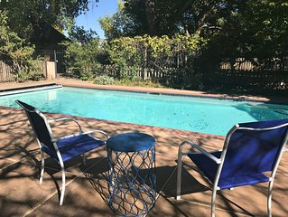 Oasis in the City.  1 BD,  1 BA.  ABQ, NM